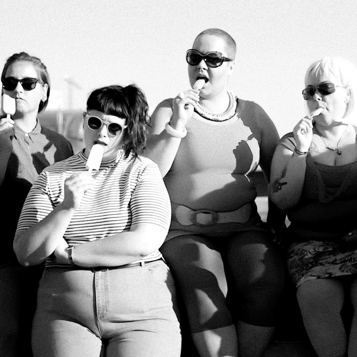 julia fuhr mann –– queer feminist film maker –– short film RIOT NOT DIET –– still from the film